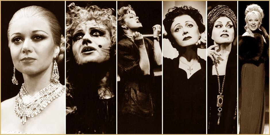 Click here to view a gallery of Elaine's iconic roles on stage