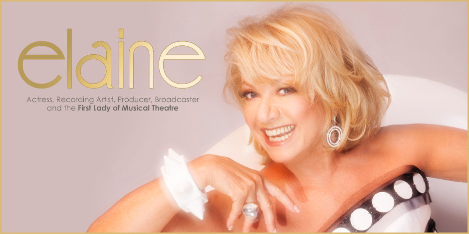 Welcome to the official website of Elaine Paige OBE